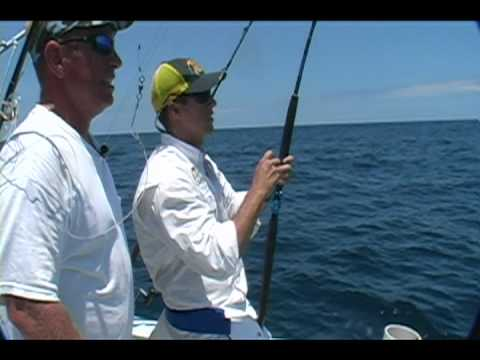 Insane offshore giant Black Marlin Attack!