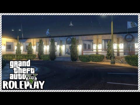 GTA 5 ROLEPLAY - Visiting 'HUGE NEW' Police Station | Ep. 227 Civ