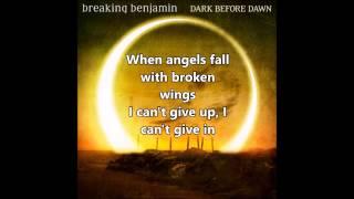 Repeat youtube video Breaking Benjamin - Angels Fall (lyrics) - 2015