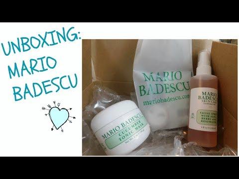 Unboxing: Mario Badescu