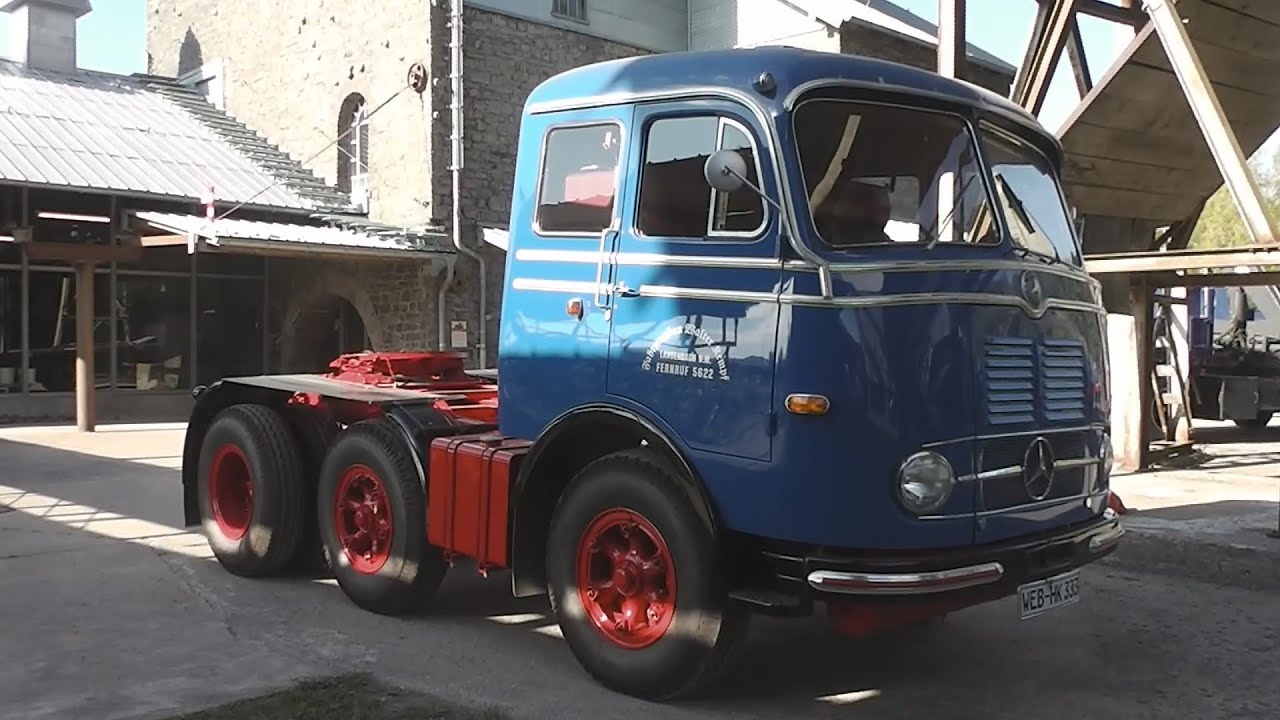 Mercedes-Benz LPS 333 - Old beautiful german Truck in HD - YouTube