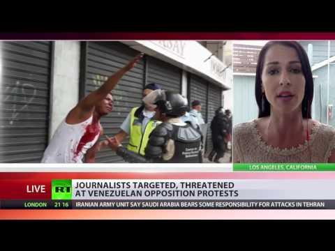 Venezuela: 'They threaten to kill you' Abby Martin Exposes Criminality of Protesters