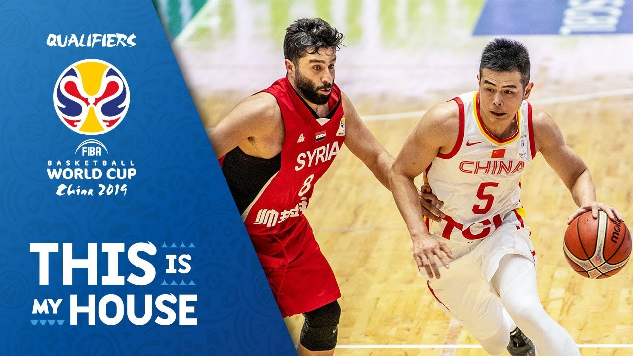 Syria v China - Full Game - FIBA Basketball World Cup 2019