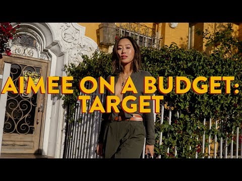 Aimee On A Budget: Target  Aimee Song