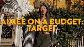 Aimee On A Budget - I Got My Entire Outfit For An Event At Target | Aimee Song