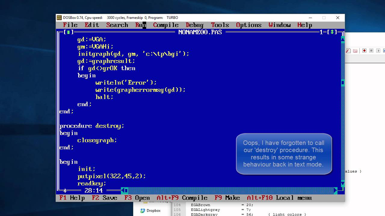 Turbo Pascal 7.1 keygen