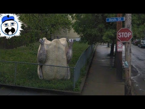 15 Google Street View Images Nobody Can Explain