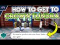 Gambar cover HOW TO GET TO THE CROWN TUNDRA in Pokemon Sword and Shield DLC