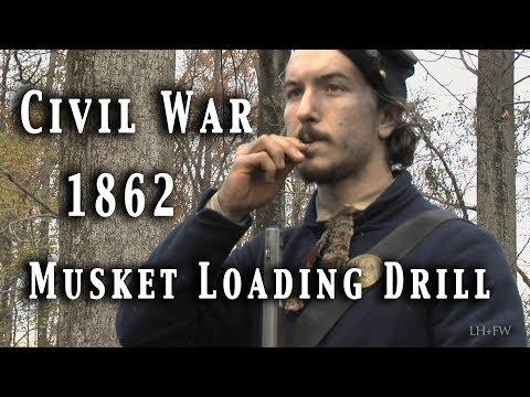 Civil War - Musket Loading Drill