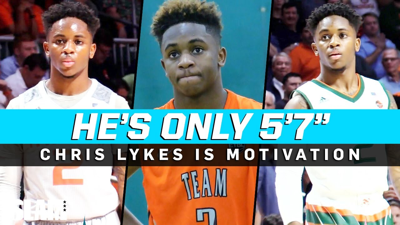 Chris Lykes is ONLY 5'7 and STILL Gets Buckets in the ACC! 😱