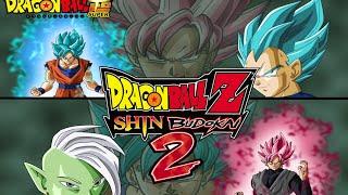 Dragon Ball Z: Shin Budokai 2 - BLACK GOKU SSJ ROSE - ZAMASU Y MAS