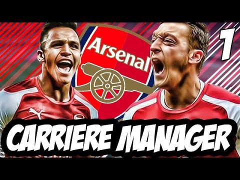 FIFA 18 | CARRIERE MANAGER | ARSENAL FC | #1 : UN MERCATO D'ENFER !