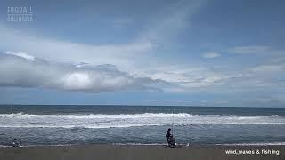 Beach hopping. Wind, waves & fishing - Pantai Baru, Srandakan, Bantul, Jogja