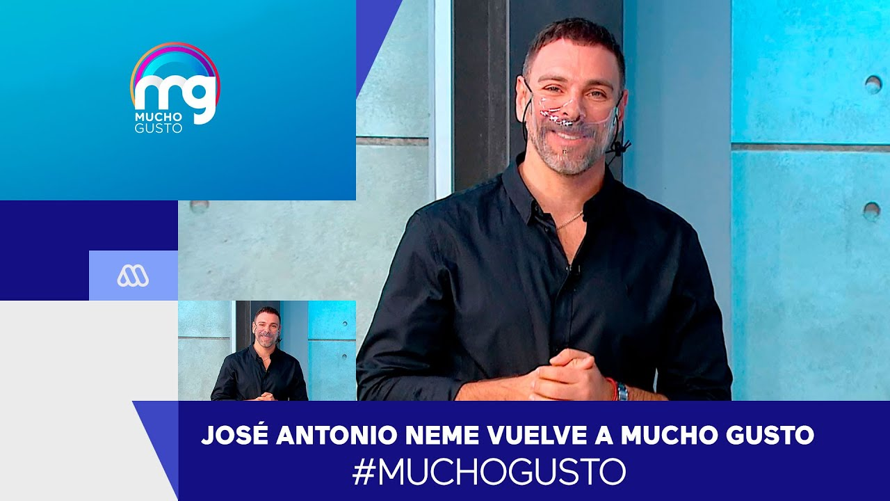 Bienvenido de regreso! José Antonio Neme vuelve a nuestro matinal - Mucho  Gusto 2021 - YouTube