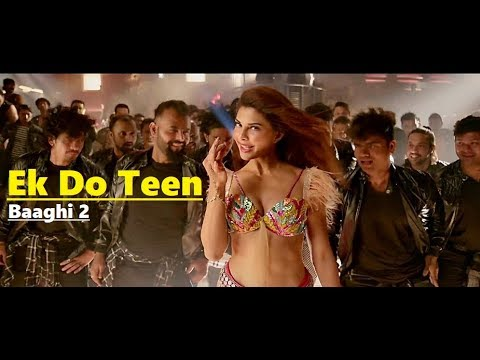 Ek Do Teen Baaghi 2 - Shreya Ghoshal & Parry G - Jacqueline Fernandez - Tiger Shroff -Disha P-Lyrics