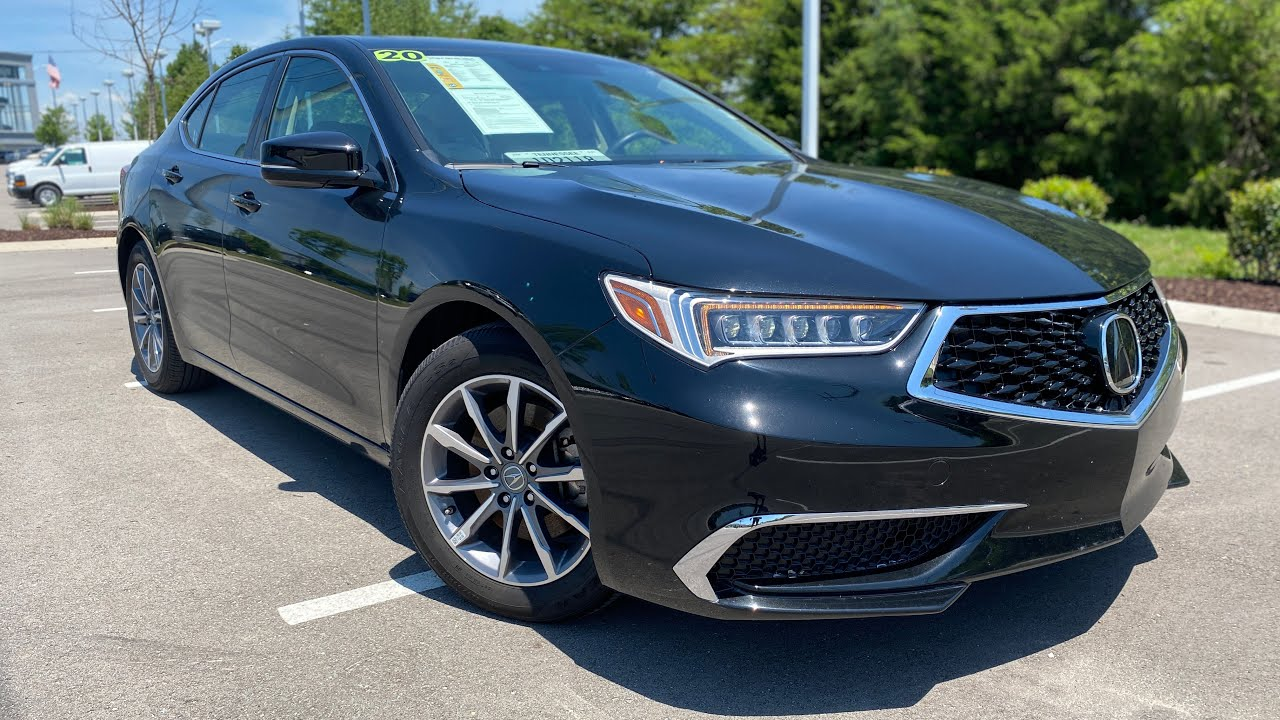 2020 Acura TLX 2.4 Test Drive & Review