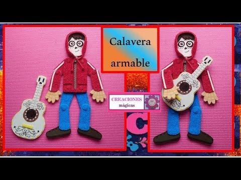 Calavera Armable Vestida De Miguel De Coco