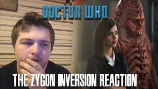 Doctor Who Series 9 Episode 8: The Zygon Inversion Reaction