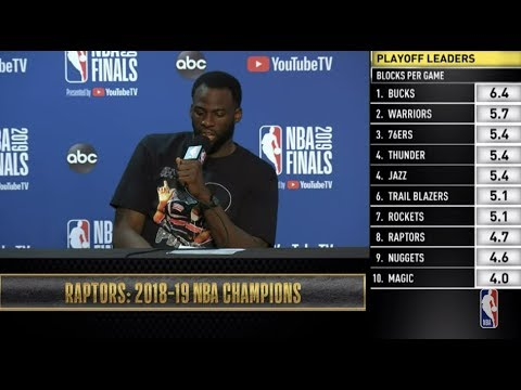 Draymond Green  Press Conference | NBA Finals Game 6