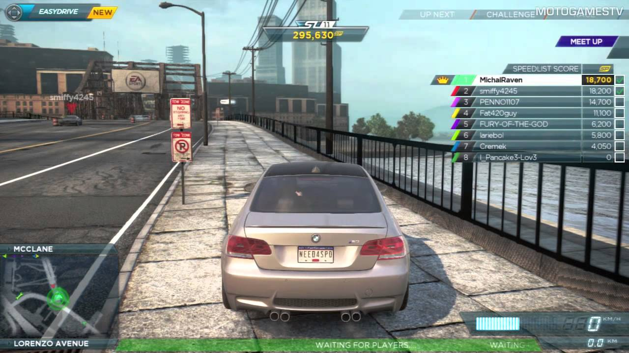 Need for Speed Most Wanted 2012   Multiplayer Gameplay   YouTube