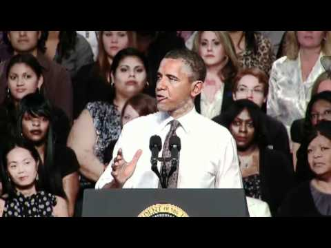 Pres Obama Jobs Act Speech Mesquite Tx Part 2 04Oct11