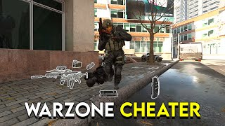Solos against a cheater in Warzone...