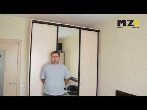Шкаф-купе в гостиную.Купить шкаф-купе в Минске.