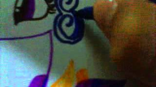 Рисуем Принцессу Каденс на свадьбе( 3 часть)