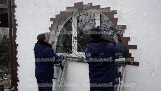 Кованые решетки на окна РК-55 - Стальной Декор(Решетки на окна от производителя. Стальной Декор http://dveri-best.ru/, 2015-12-05T03:27:04.000Z)