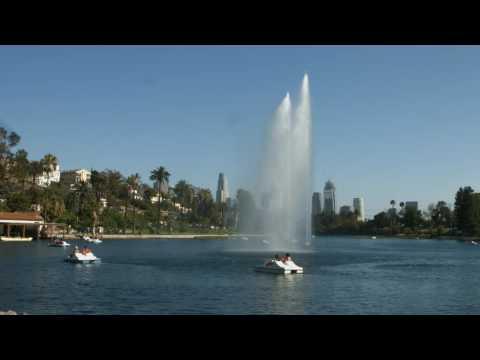 Echo Park, Los Angeles - 4K