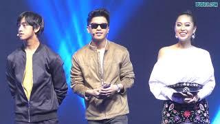 Gelagat Haqiem Rusli, Ismail Izzani & Nabila Razali di Era of Live Party - SAMSUNG X E! News