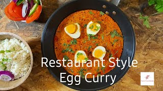 Restaurant Style Egg Curry | Egg Masala Gravy | By Chef Jitendra