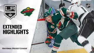 Los Angeles Kings vs Minnesota Wild | Feb.26, 2021 | Game Highlights | NHL 2021 | Обзор матча