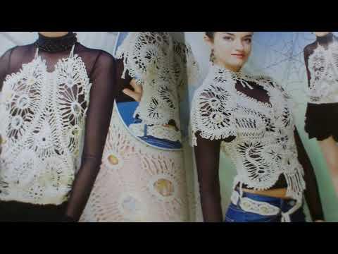 Спец-выпуск журнала Дуплет,,Вязание на вилке .Красивые модели от разных мастеров!