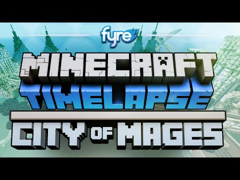 Minecraft Timelapse - Laenadur : City Of Mages