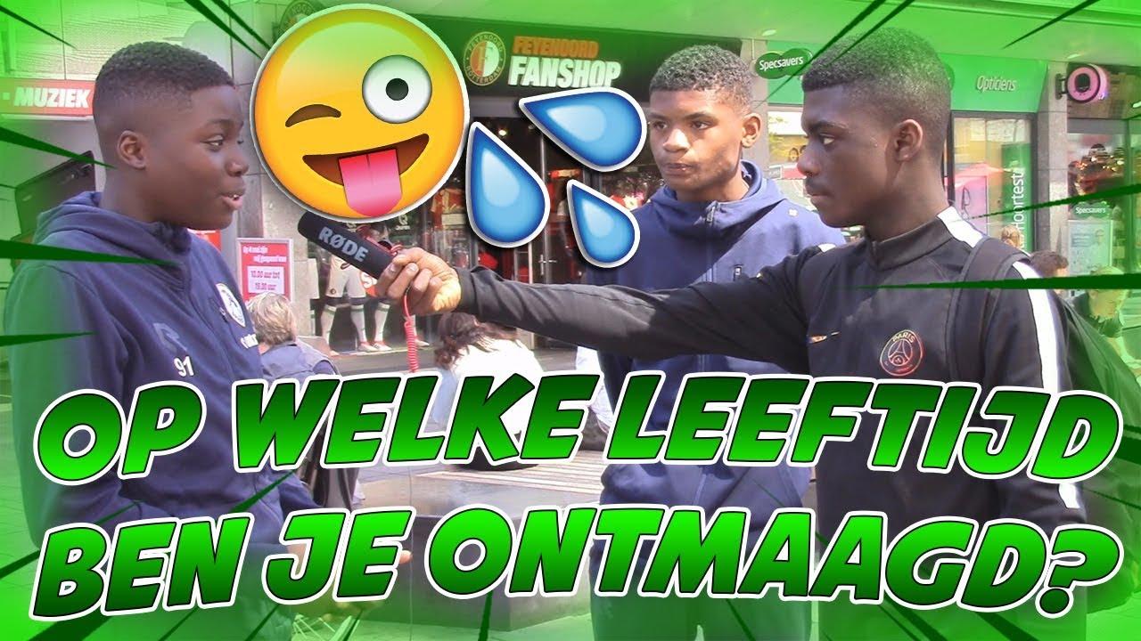 Op Welke Leeftijd Ben Jij Ontmaagd Rotterdam Youtube
