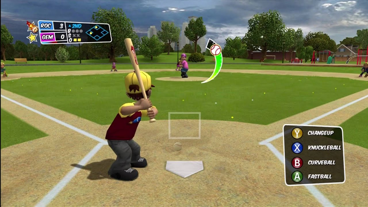 backyard baseball 2010 xbox 360 well ok then fielders are slow