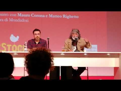 Matteo Righetto e Mauro Corona - Montagne e frontiere - Salone Internazionale del Libro di Torino