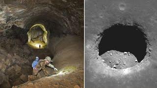 """Невероятные подземные """"трубопроводы"""". Лавовые трубки на Земле и не только!"""