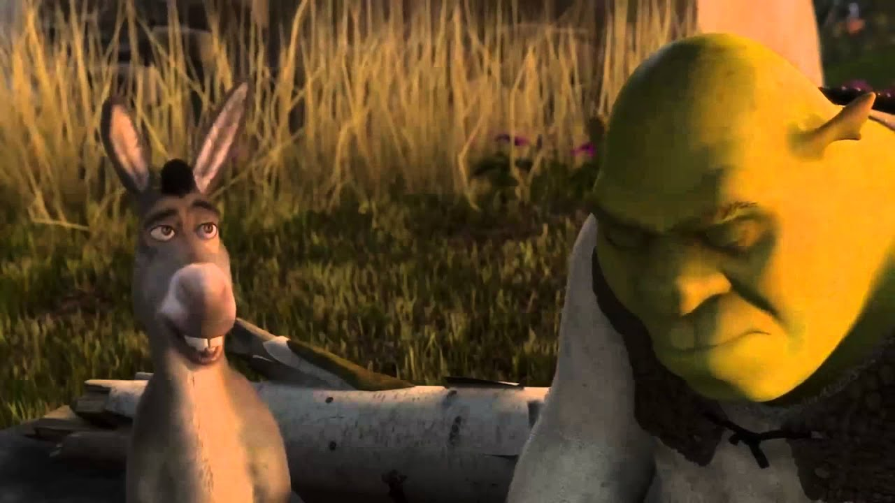 Donkey Sees Shrek Likes Fiona Youtube
