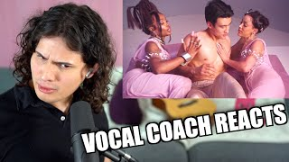 Download Vocal Coach Reacts to Doja Cat - Kiss Me More ft. Sza