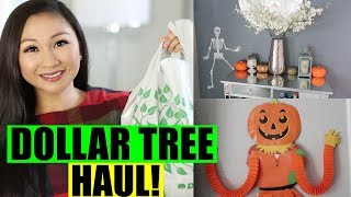 DOLLAR TREE HAUL! | Halloween Home Decor