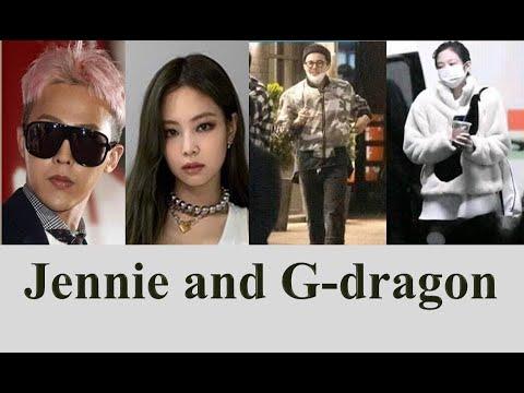 Jennie G Dragon Jennie And Gdragon Jennie And G Dragon Dating Blackpink Jennie Dispatch Youtube