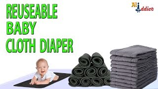 Bamboo Charcoal Baby Cloth Diaper Onsale - Reusable & Washable