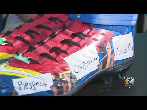 Miami Middle School Student Wins Miami Dolphins' District-Wide Cleat Contest