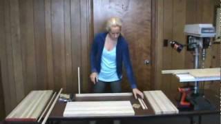 Wood Door Mat