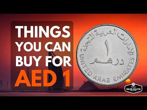 Things You Can Buy For AED 1