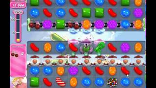 Candy Crush Saga level 879 (2 star, No boosters)