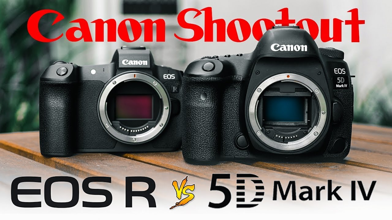 Canon Eos R Vs 5d Mark 4 Which Is Best For Video