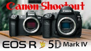 Canon EOS R vs. 5D Mark 4 - Which is best for VIDEO?